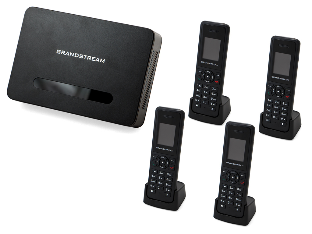 Grandstream DP720/750 Handset & Base Bundle (4 Handsets)