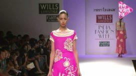 Preethi Jhawar @ Wills Lifestyle India Fashion Week SS13