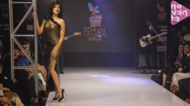 Sonali Shegal Sizzles in a High Slit Dress
