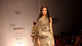 Stylists, Designers & Editors turn Models at AIFW 2015