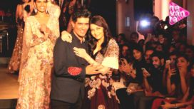 Manish Malhotra's Empress Aishwarya on AICW Ramp