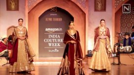 Reynu Taandon's Persian Grandeur with Richa Chadda at IBFW15