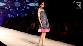 Pallavi Mohan's Kaleidoscopic Offering at AIFW SS 16