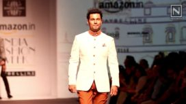 Randeep Hooda walks for Rohit Kamra at AIFW AW 16