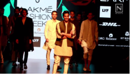 Sidharth Malhotra sets Runway Blazing at LFW SR 16