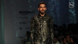 Chinese Art with Indian Sensibilities for Men at AIFW A/W 16