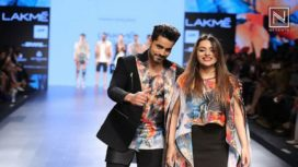 Gautam Gulati for Farah Sanjana at LFW S/R 2017