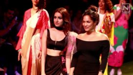 Shraddha Kapoor Plays the Perfect Muse to Masaba at LFW S/R '16