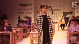 Aneeth Arora's Gingham Exploration at AIFW A/W 16