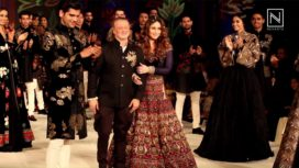 Grand Finale by Rohit Bal at LFW S/R '16