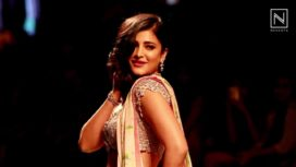 Nevanta - Lakme Fashion Week S/R 16 | Shruti Haasan walks for Anushree Reddy