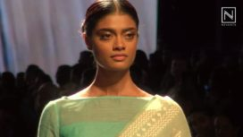 Gossamer Sarees by Swati & Sunaina at Lakme Fashion Week SR 2016