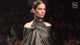 Metallic Sheen by Swati Kalsi at Lakme Fashion Week SR 2016
