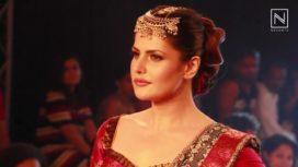 What is Zarine Khan's Wardrobe Choice?