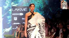 Must Haves Black & White Sarees