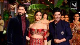 Deepika & Fawad Walk for Manish Malhotra at India Couture Week 2016