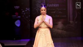 Sanjjanna walks for Soucika at Bangalore Fashion Week WF 2016