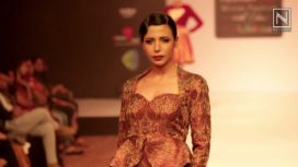 'Black Magic' by Leena & Akshara at Bangalore Fashion Week WF 2016