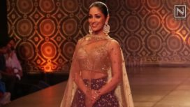 When Yami Gautam Turned Bride at India Couture Week 2016
