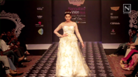 Ragini Dwivedi walks for Michelle Salins at BFW WF 2016