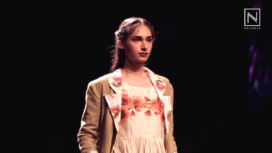 Typography with Garden Prints at Lakme Fashion Week Winter Festive 2016