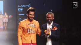 Mr World Rohit Khandelwal for Ajay Kumar at LFW WF 2016
