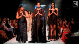 Sarah Jane Dias walks for Kara on Day 1 of PFW 2016