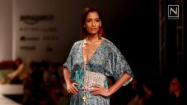 Anupamaa Dayal at Amazon India Fashion Week Spring Summer 2017