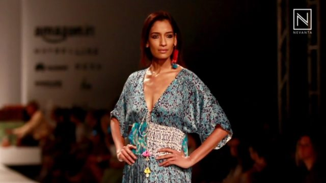 c380c9e121 Anupamaa Dayal at Amazon India Fashion Week Spring Summer 2017 - Nevanta