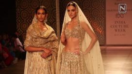 Bridal Collection by Rimple & Harpreet Narula at ICW 2016