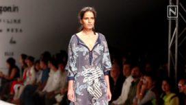 Sanchita Ajjampur at Amazon India Fashion Week Spring Summer 2017