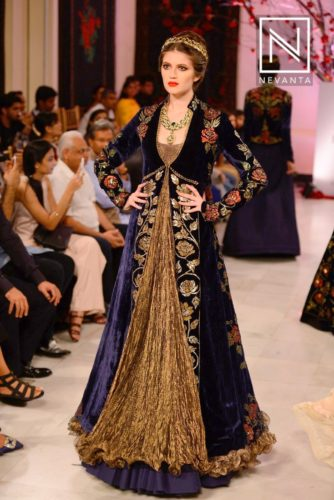 Lehengas with Long Jackets