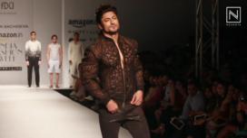 Pawan Sachdeva at Amazon India Fashion Week SS 2017