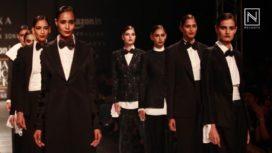 Monochrome Trend at Amazon India Fashion Week SS 2017
