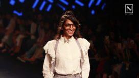 Anushka Manchanda Walks for Chola at LFW SR 2017