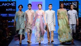Anushree Reddy at Lakme Fashion Week Summer Resort 2017