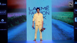 Jim Sarbh Walked for Khanijo at Lakme Fashion Week SR 2017