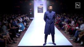 Rahul Dev Walks for Rainush at Bangalore Fashion Week 2017
