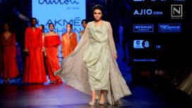 Swara Bhaskar for Amoh By Jade at LFW Summer Resort 2017