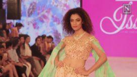 Chetana and Swathi at India Beach Fashion Week 2017