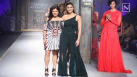 Alia Bhatt Walks for Namrata Joshipura at AIFW AW 2017