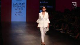 Nishka Lulla Showcases at Lakme Fashion Week 2017