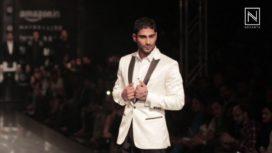 Prateik Babbar at Amazon India Fashion Week 2017