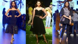 Front Row Celebrities at Lakme Fashion Week SR 2017