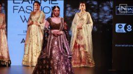 Aditi Rao Hydari for Kotwara at Lakme Fashion Week SR 2017