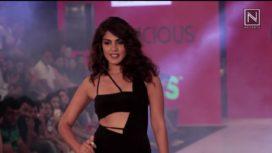 Rhea Chakraborty Walks for Flirtatious at India Beach Fashion Week 2017