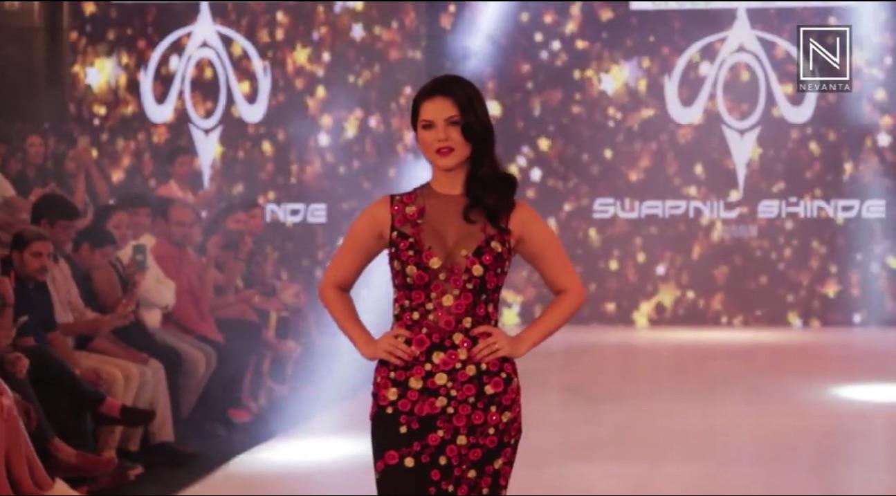 f4e908489c Sunny Leone Sets Runway Ablaze at India Beach Fashion Week 2017 - Nevanta