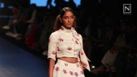 Swati Vijaivargie at Lakme Fashion Week SR 2017