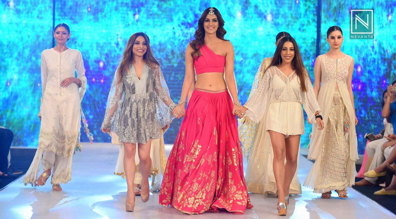 547fa5bef5 Kriti Sanon for Sukriti & Aakriti at India Beach Fashion Week 2017 - Nevanta