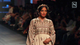 Rahul n Shikha at Lakme Fashion Week SR 2017